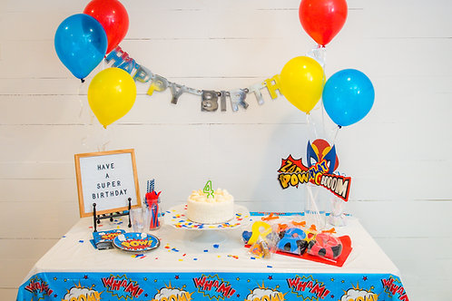 Birthday Kit- Superhero