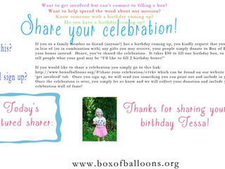 Share your Celebration!