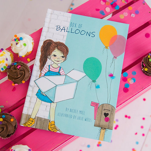 Box of Balloons Book