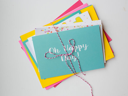5-Pack Celebration cards
