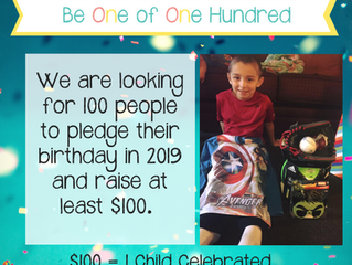 100 Birthday Pledge Challenge
