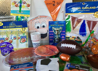 Take me out to the ballgame! Sports Party Ideas!