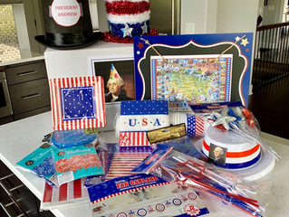 American History- A Birthday Theme