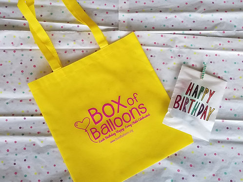 Box of Balloons Logo Tote Bag