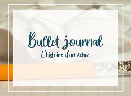 Bullet journal, l'histoire d'un échec