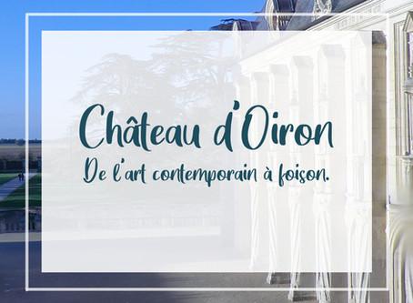 Château d'Oiron, de l'art contemporain à foison.