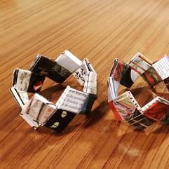 Atelier bracelets en papier