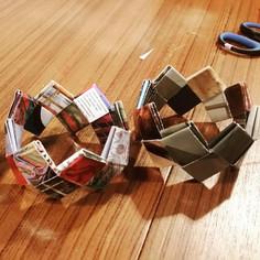 Atelier Bracelet en papier