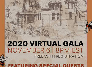 Mark Twain House: 2020 Virtual Gala