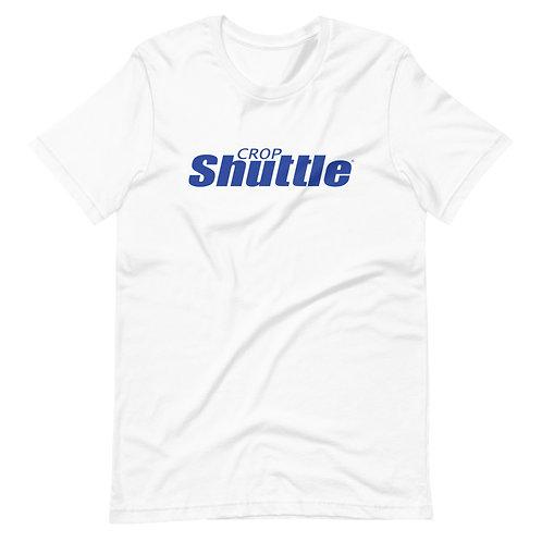 Blue Crop Shuttle Logo - T-Shirt
