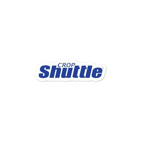Bubble-free Crop Shuttle Stickers