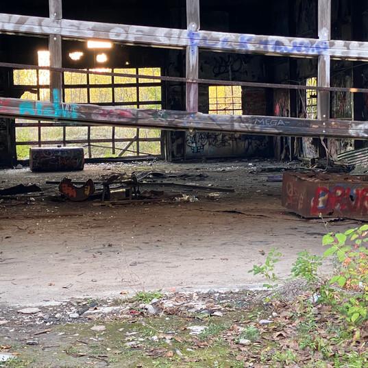 Abandoned Building at Skytop