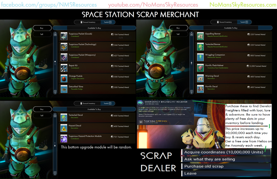 Space Station Scrap Merchant [Expedition
