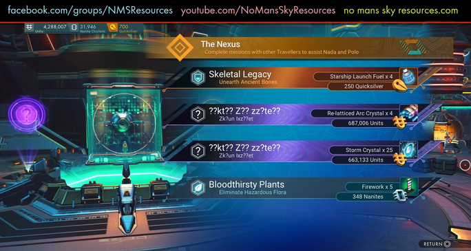 Nexus (with 2 Encrypted Missions) [Origi