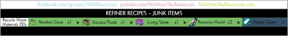 87 - Junk To Nanites - Refiner Recipe.pn