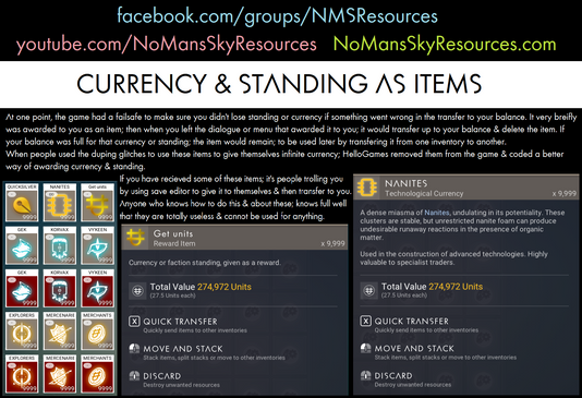 Currency & Standing As Items.png