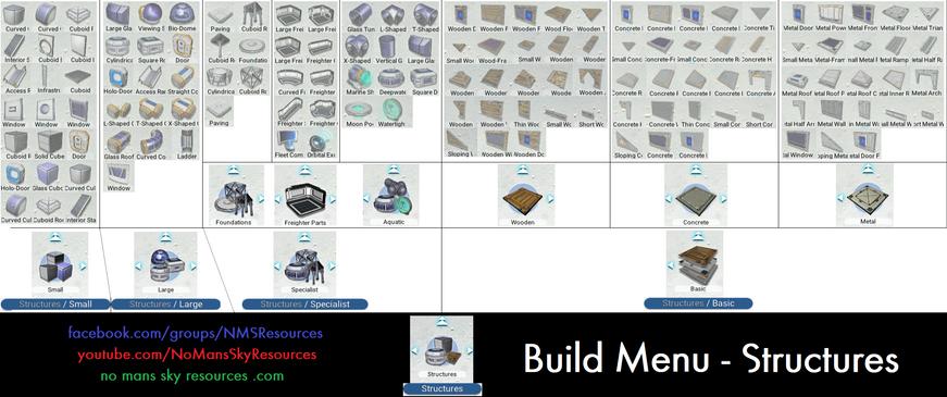 Build Menu - Structures [Origins 3.0].pn