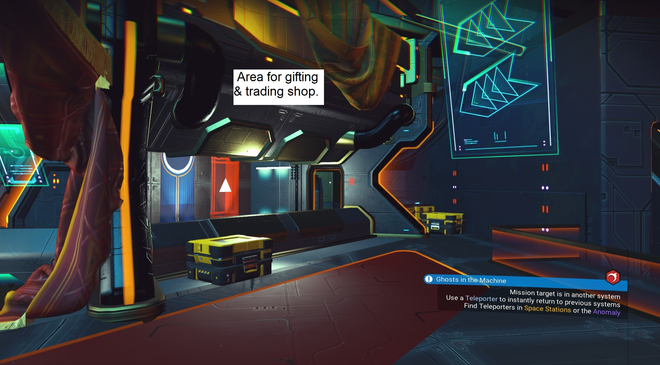 Anomaly Idea - Gifting and Trading Station