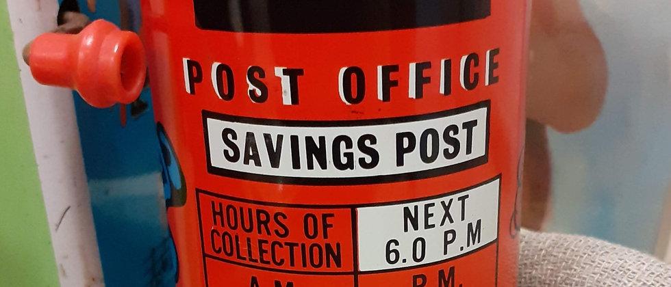 Postbox money box