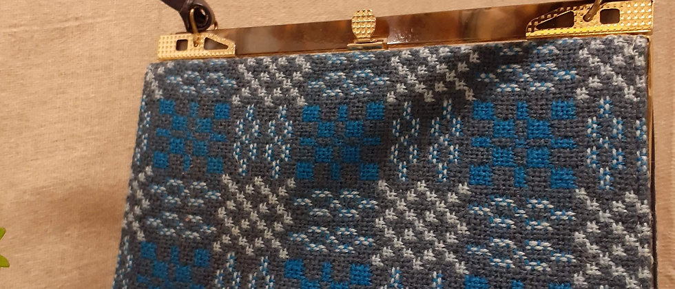 1950s Welsh Tapestry handbag