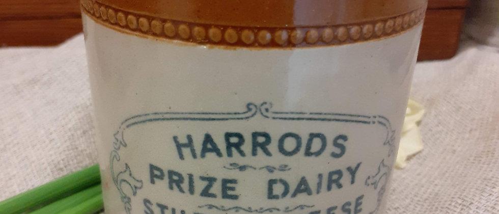 Harrods Stilton Jar