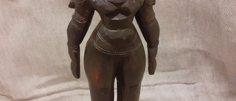 Victorian African fertility god