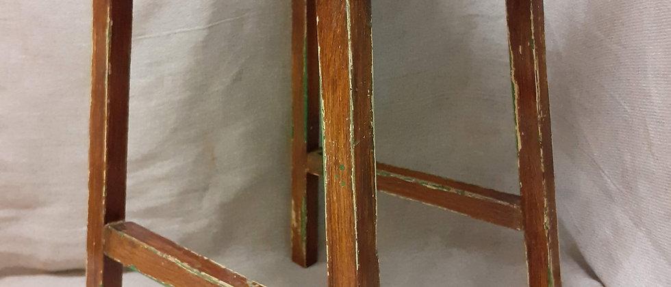 Scumble glazed stool