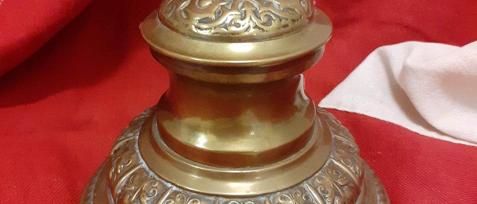 Brass Inkwell