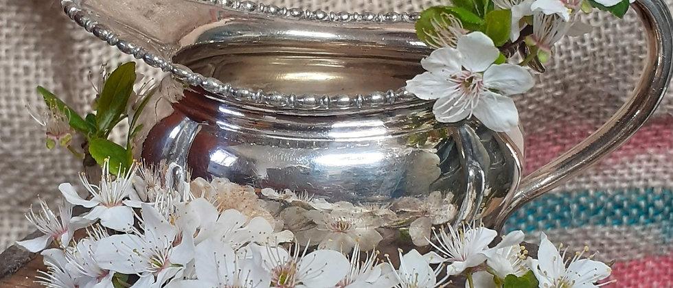 Silver plate cream jug
