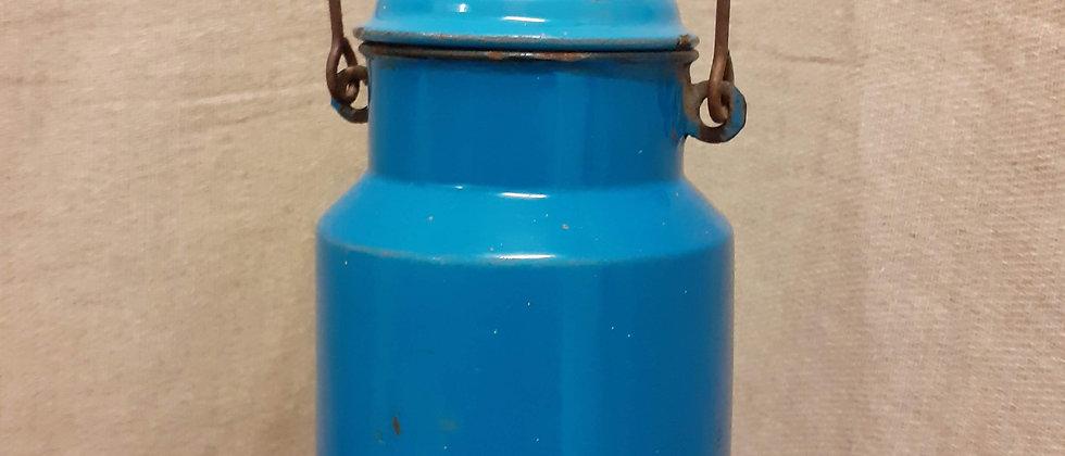 European enamel milk pail