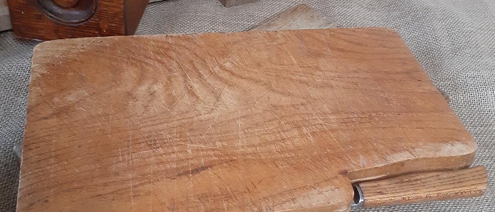 Wooden bread board
