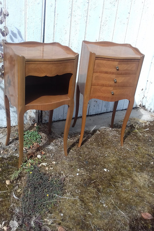 Pair French Bedside tables