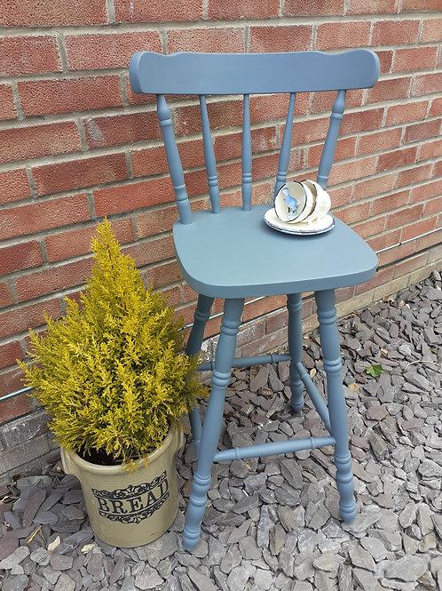 Painted bar stool