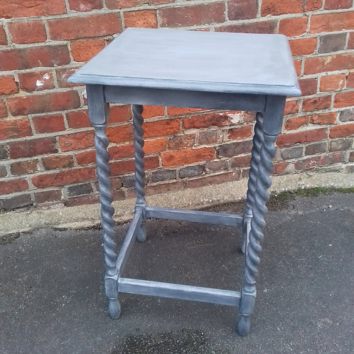 Painted Barley twist occassional table