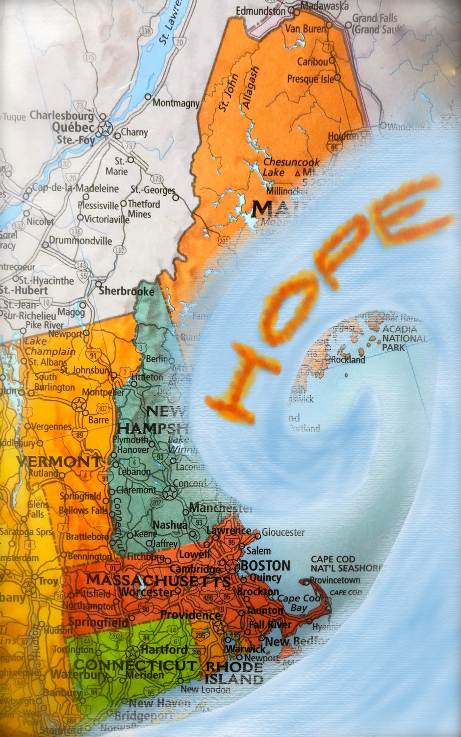 WAVE OF HOPE