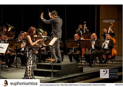 Conducting Tatui Conservatory Wind Band