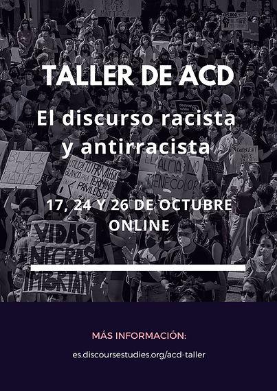 Taller acd - discurso antiracista 2020_e