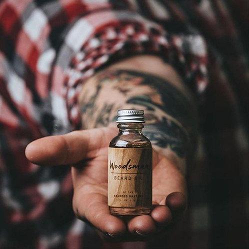 Bearded Bastard - Woodsman Beard Oil (30ml)