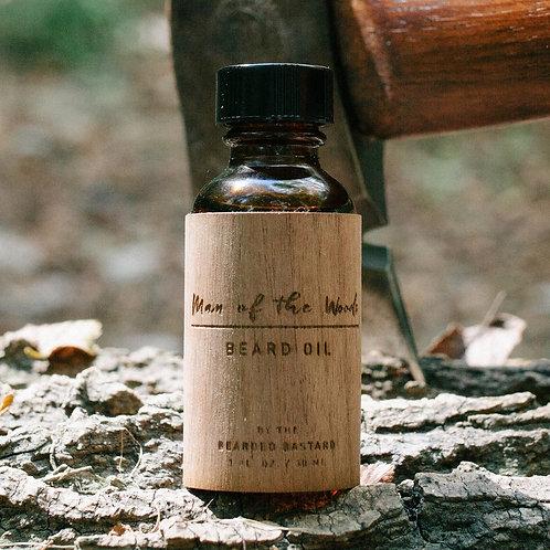 Bearded Bastard - Man of the Woods Beard Oil (30ml)