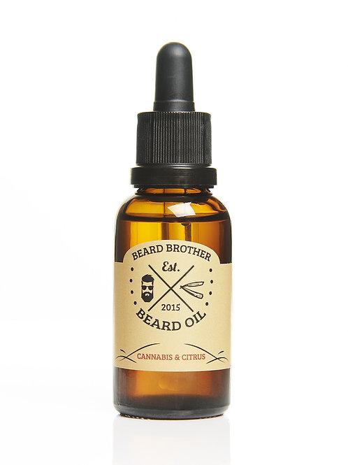 Beard Brother - Beard Oil Canabis & Citrus (30ml)