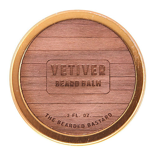 Bearded Bastard - Vetiver Beard Balm (55gr)