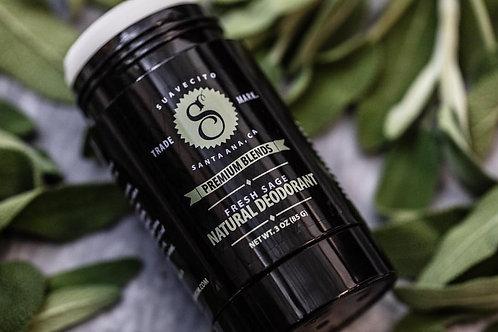 Suavecito Premium Blends - Fresh Sage Natural Deodorant (85g)