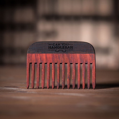 CanYouHandlebar - Wooden Comb Paduak