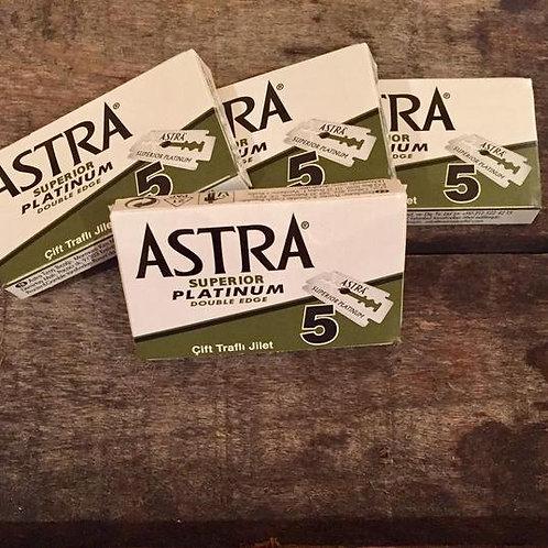 Astra Superior Platinum - Lames de rasoir