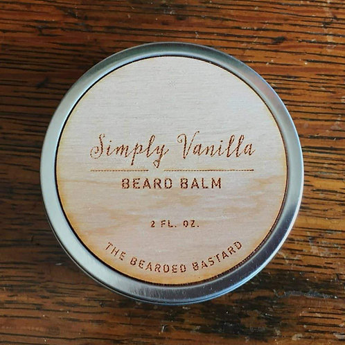 Bearded Bastard - Simply Vanilla Beard Balm (55gr)
