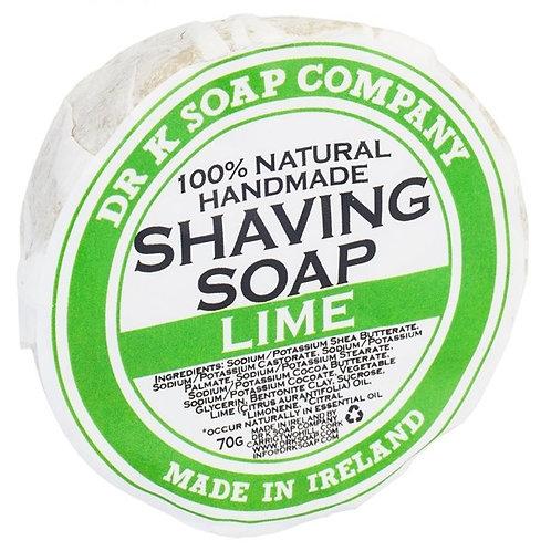 Dr K Soap - Lime Shaving Soap (70g)