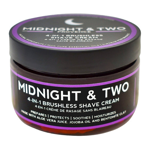 Midnight & Two - 4-in1 Brushless Shave Cream Provence  (60g)