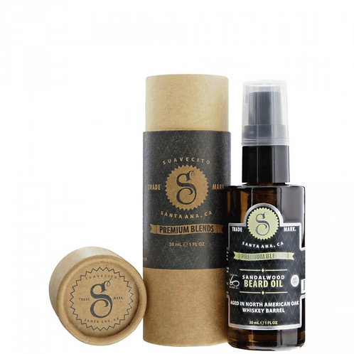 Suavecito Premium Blends - Sandalwood Beard Oil (30ml)