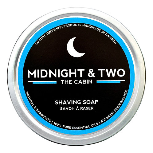 Midnight & Two - Shaving Soap The Cabine (60g)