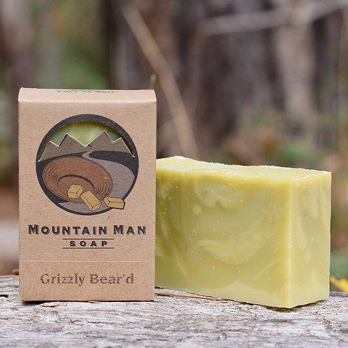 Mountain Man Soap - Grizzly Bear'd